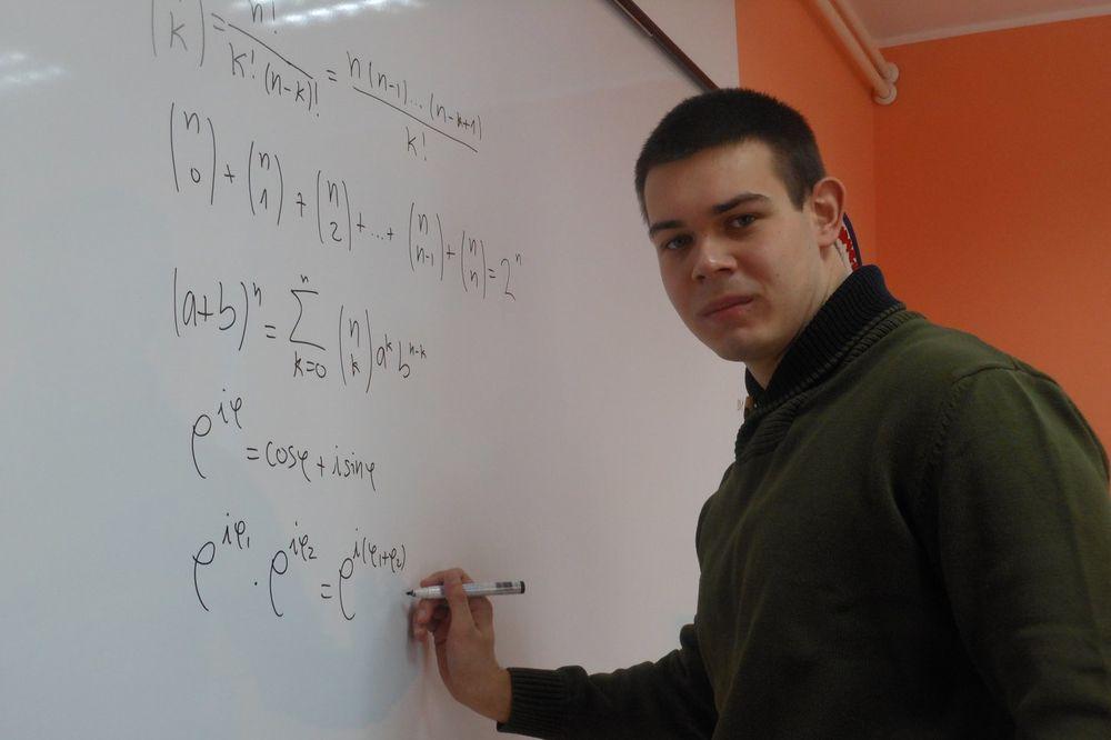 MATEMATIČKI GENIJE SE SELI U AMERIKU: Aleksa Konstantinov školovanje nastavlja u Bostonu