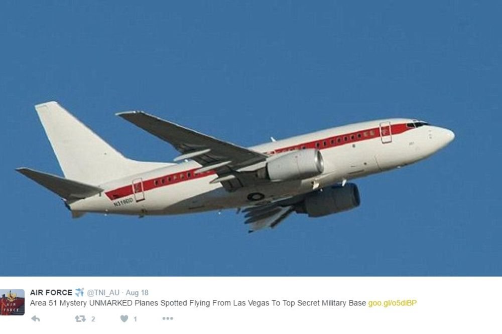 MISTERIJA OBLASTI 51: Flota boinga 737 svakodnevno leti u tajnu američku bazu, niko ne zna zašto