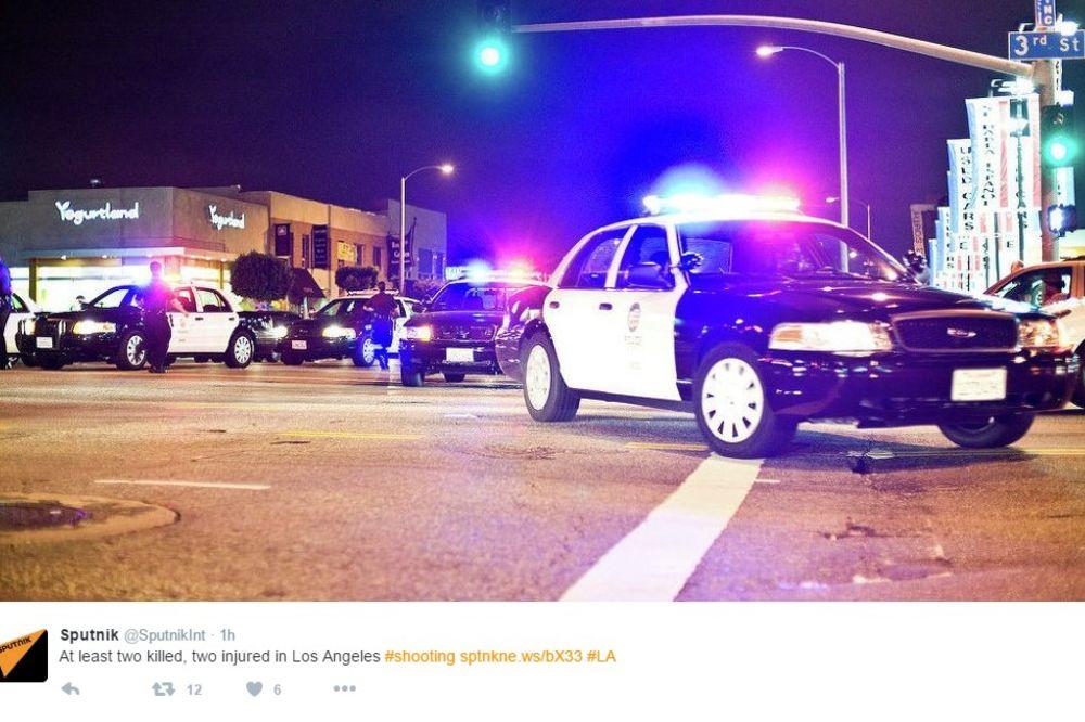 OBRAČUN U LOS ANĐELESU: Dvoje ubijeno, dvoje ranjeno u noćnom klubu