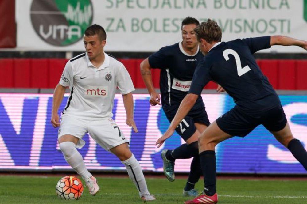 (VIDEO) MAŽIĆ OŠTETIO CRNO-BELE: Partizan oštećen protiv Spartaka