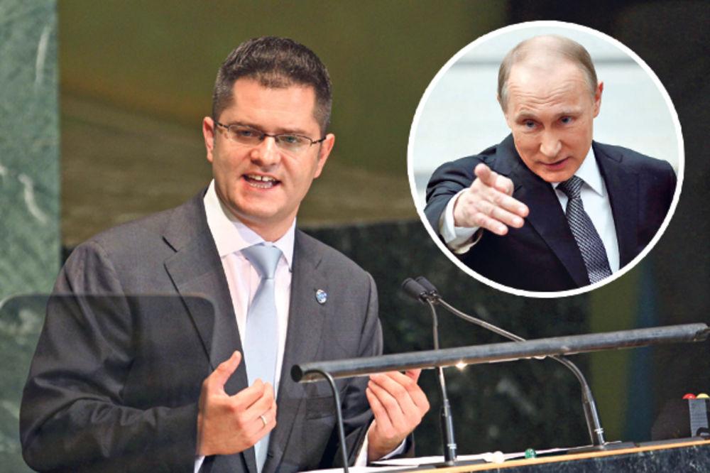 TRKA ZA GENSEKA: Putin gura Vuka Jeremića na čelo Ujedinjenih nacija
