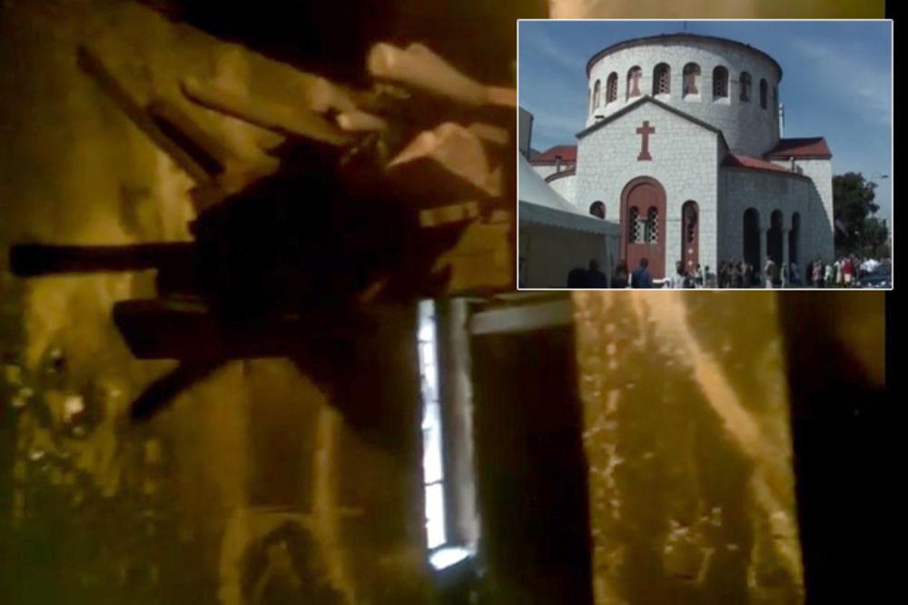 (VIDEO) UŽAS U CENTRU SARAJEVA: Srbin zapalio crkvu Svetog Preobraženja