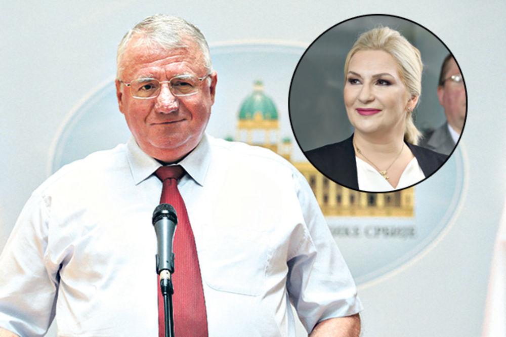 ŠEŠELJ: Ne znam da li je živa majka Zorane Mihajlović, ali ne verujem da može biti ponosna na ćerku!