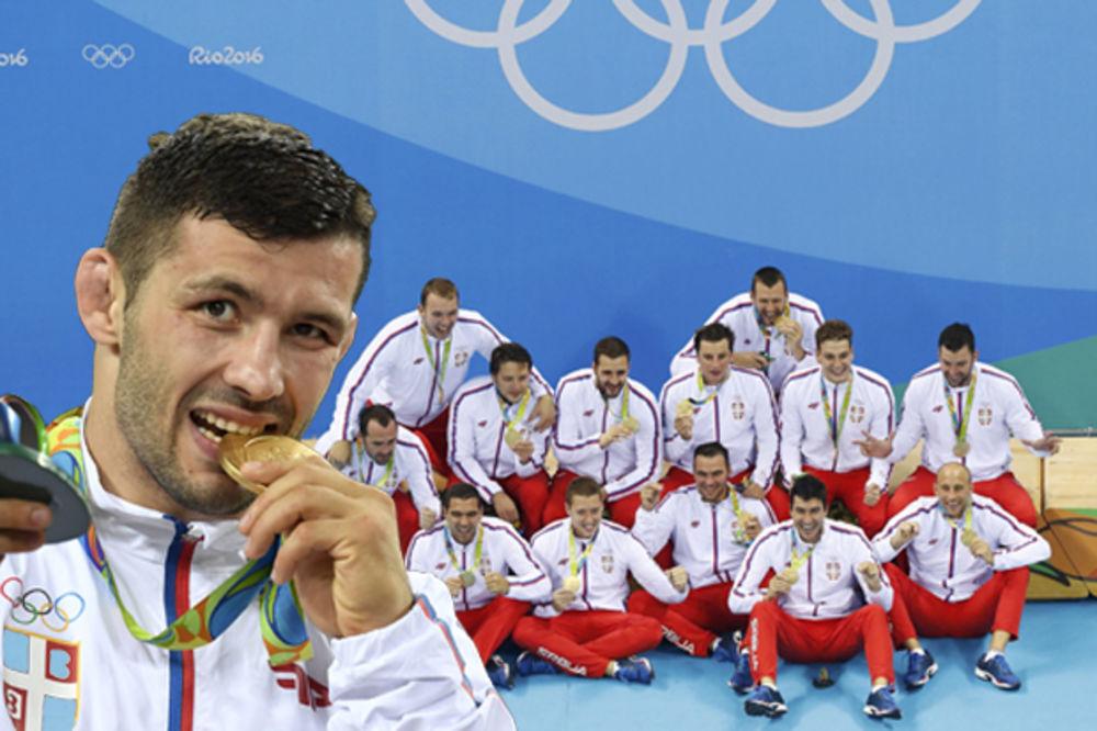 (KURIR TV I FOTO) ONI SU NAŠ PONOS: Evo osvajača svih 8 srpskih medalja na OI u Riju