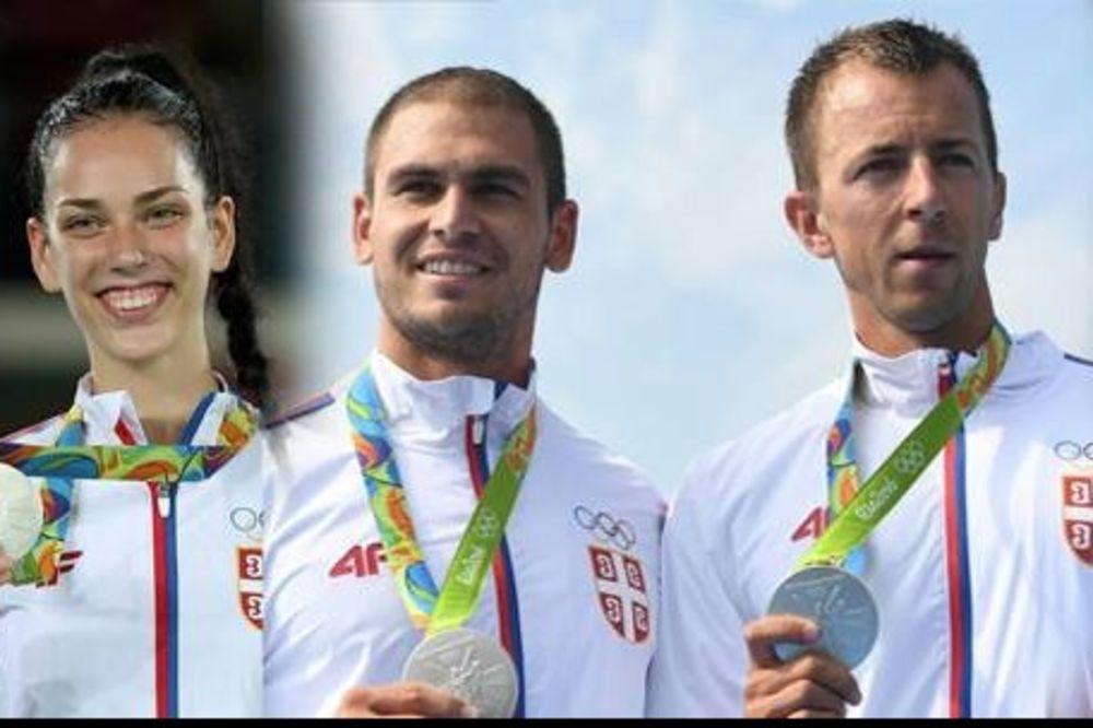 SRBIJA SE ODUŽILA HEROJIMA IZ RIJA: Evo koliko će novca iz budžeta dobiti osvajači medalja na OI!