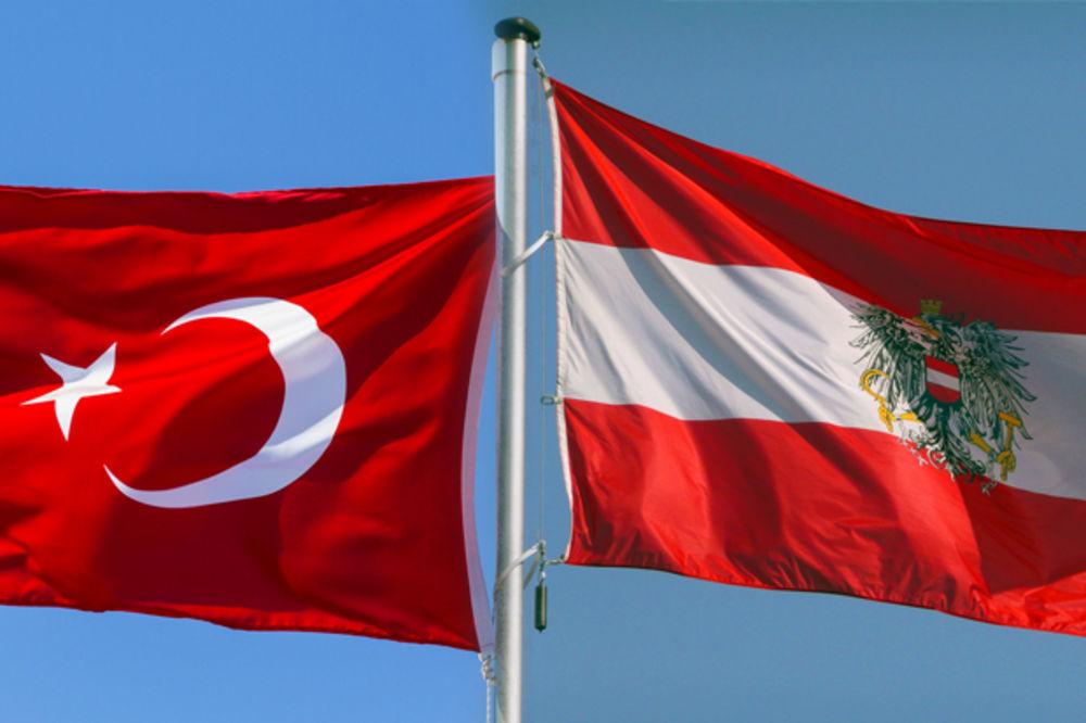 ODNOSI TURSKE I AUSTRIJE SVE GORI: Turski ambasador povučen iz Beča!