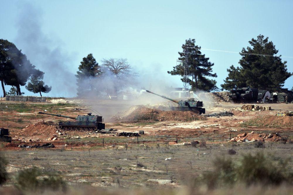 DRUGI DAN PAKLA: Turska bez prestanka tuče položaje Islamske države u Siriji