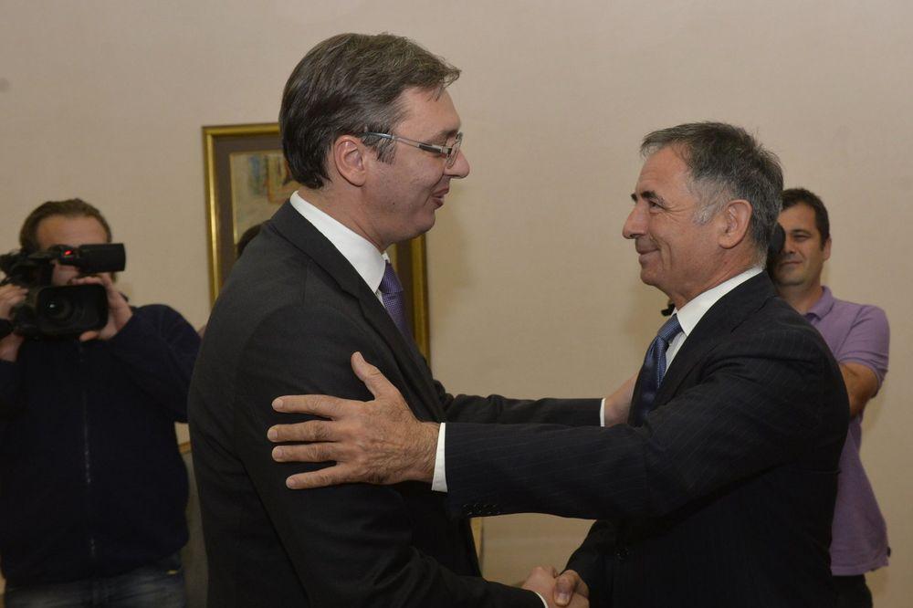 VUČIĆ I PUPOVAC: Prekinuti tenzije između Beograda i Zagreba