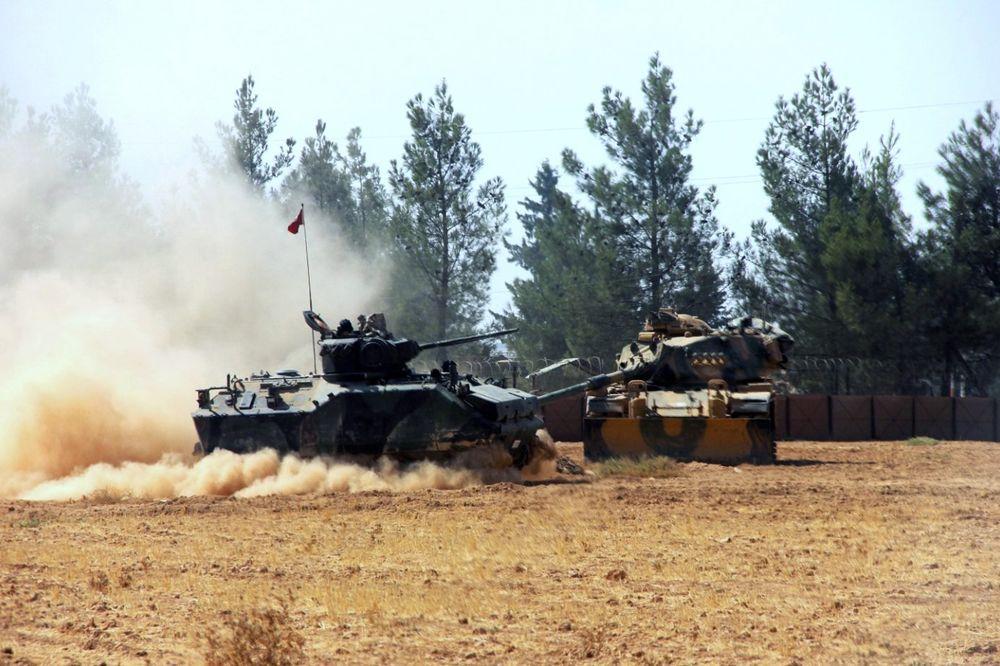 KURDI NAPALI TURKE U SIRIJI: Ubijen jedan turski vojnik, trojica ranjena