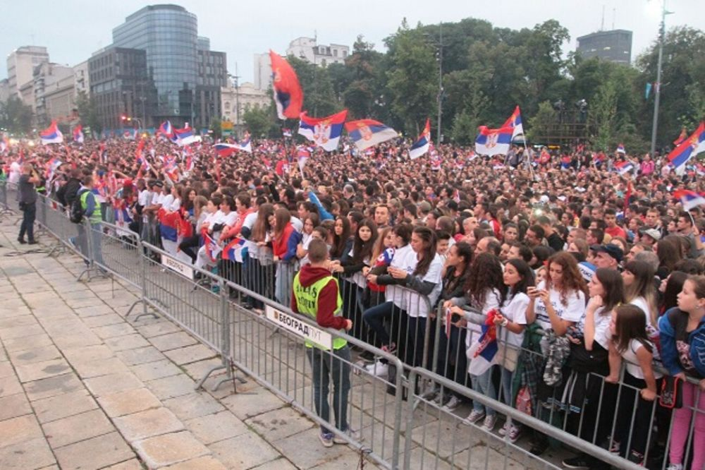 BLOG UŽIVO, VIDEO: Više od 20.000 ljudi dočekalo srpske olimpijce u Beogradu