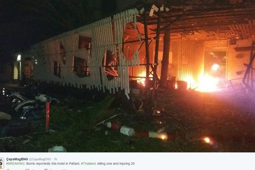 EKSPLOZIJA U TAJLANDSKOM LETOVALIŠTU: Najmanje jedna osoba poginula, 29 povređeno