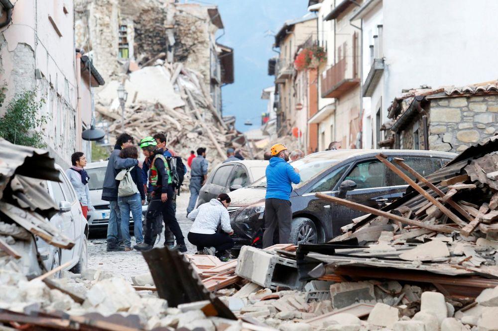 (UŽIVO) KATASTROFA U ITALIJI: Jak zemljotres od 6,2 po Rihteru pogodio Peruđu, 14 mrtvih!