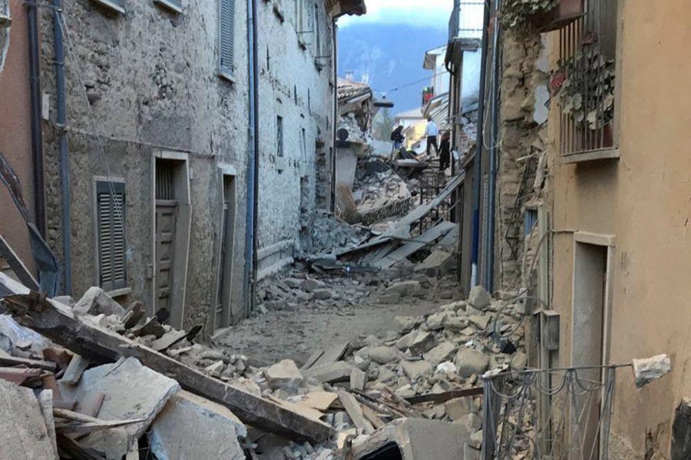 POSLE ZEMLJOTRESA U ITALIJI: Među žrtvama zasad nema srpskih državljana