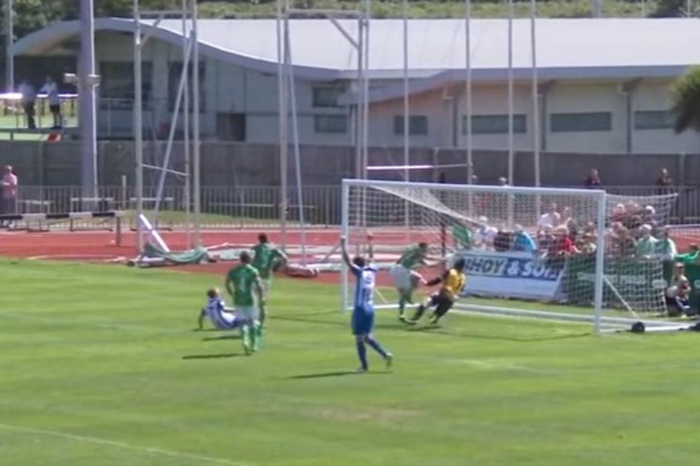(VIDEO) ASISTENCIJA MAJKE PRIRODE: Pogledajte jedan od najčudnijih golova u fudbalu