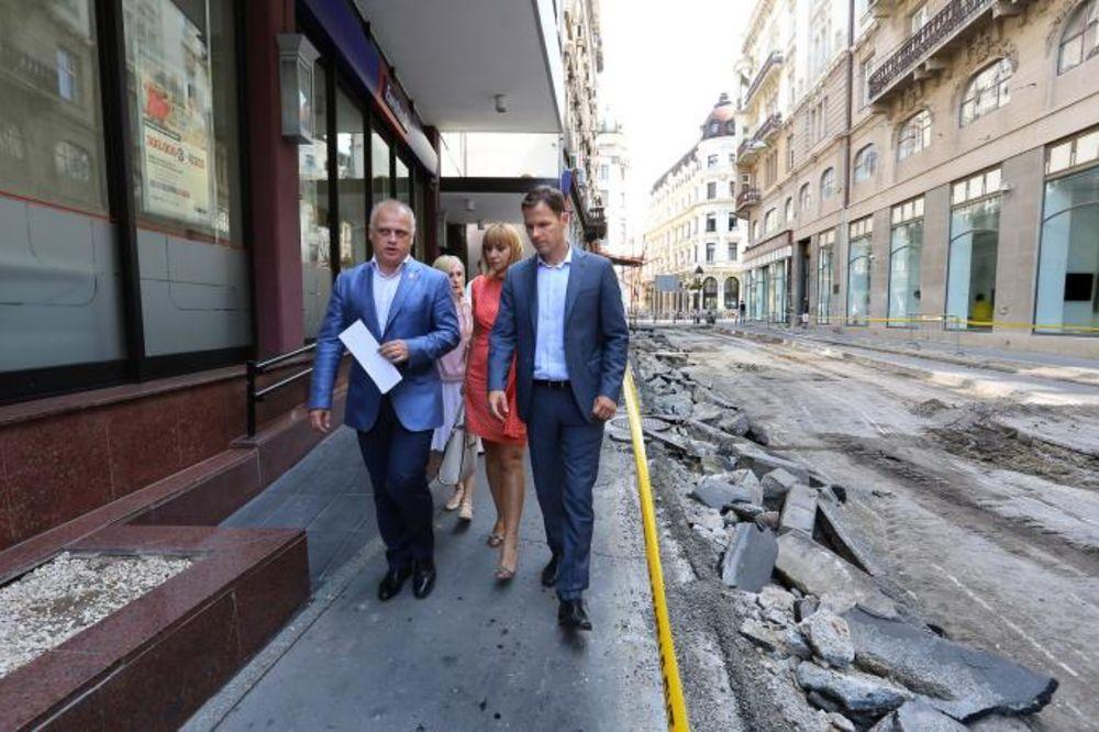 BEOGRAD POSTAJE RAJ ZA PEŠAKE: Popločana Zmaj Jovina, plato ispred Pošte od danas pešačka zona!