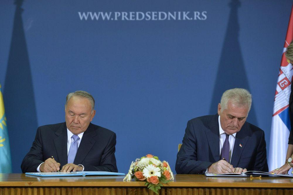 NAZARBAJEV: Srbija je važan partner Kazahstana u Evropi