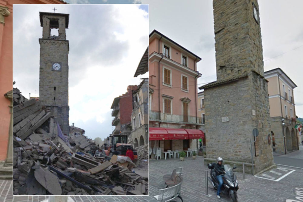 (FOTO) GRAD NESTAO U JEDNOJ NOĆI: Ovako je još juče izgledao bajkoviti italijanski Amatriče