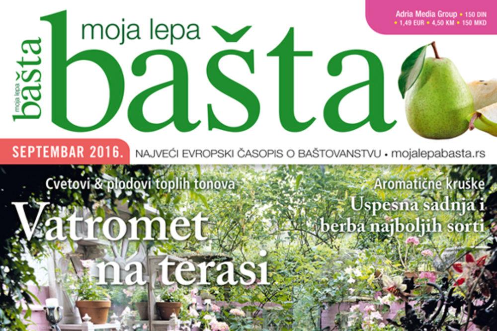 Novi broj časopisa Moja lepa bašta