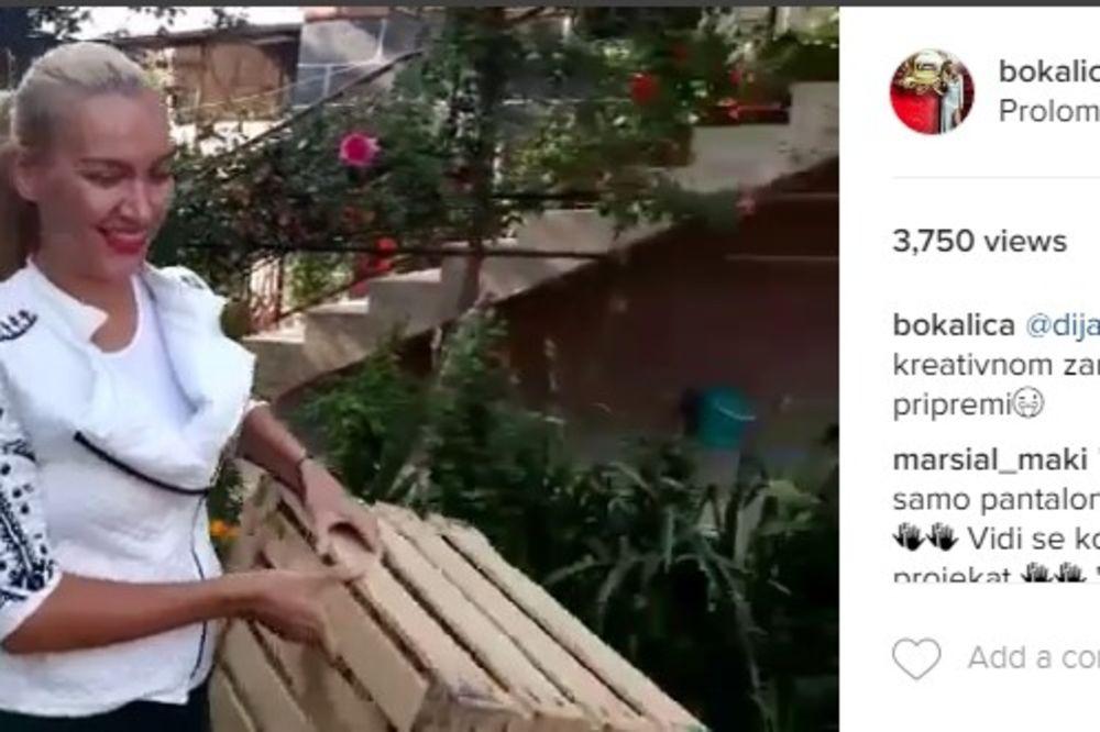 (VIDEO) VODITELJKA PAROVA NOSI GAJBE: Posle rijalitija, ovo je njen novi posao!