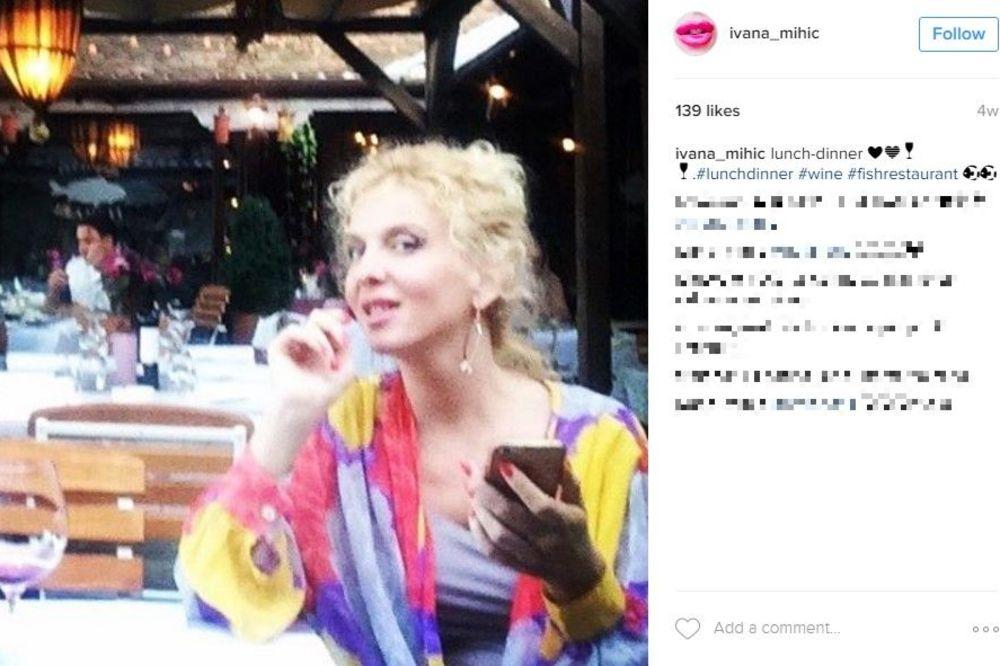 (FOTO) SKINULA SE IVANA MIHIĆ (47): Glumica svojim telom šokirala sve