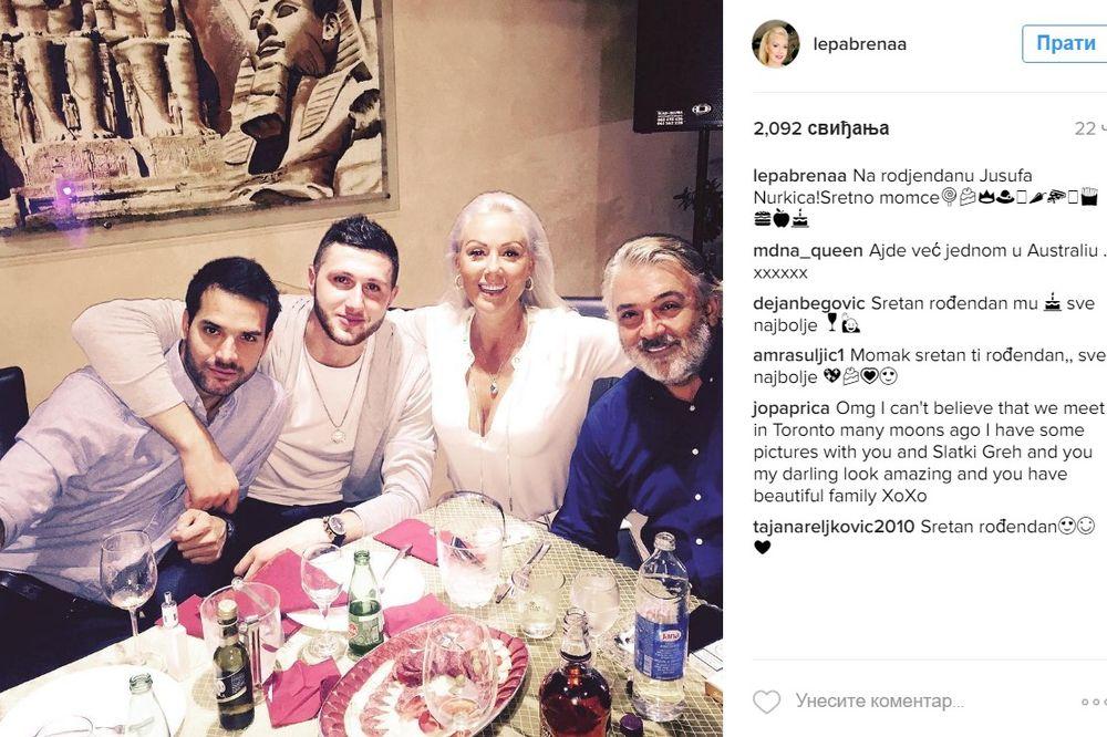 (VIDEO) LEPA BRENA NBA KOŠARKAŠU IZVUKLA UŠI: Evo kako je bilo na rođendanu Jusufa Nurkića