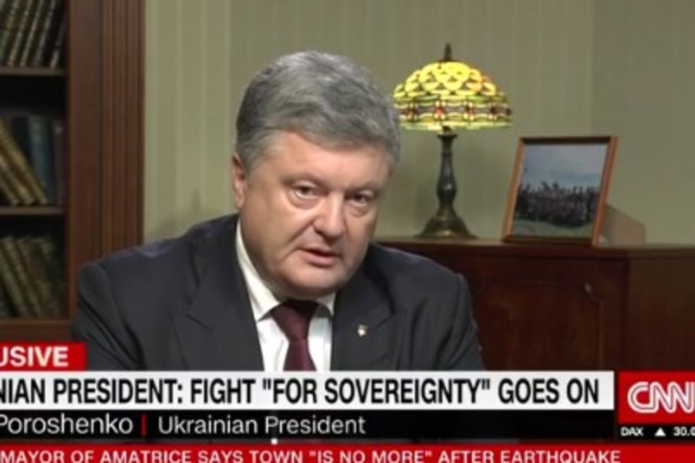 (VIDEO) POROŠENKO IZGUBIO KOMPAS: Rusija želi čitavu Ukrajinu!
