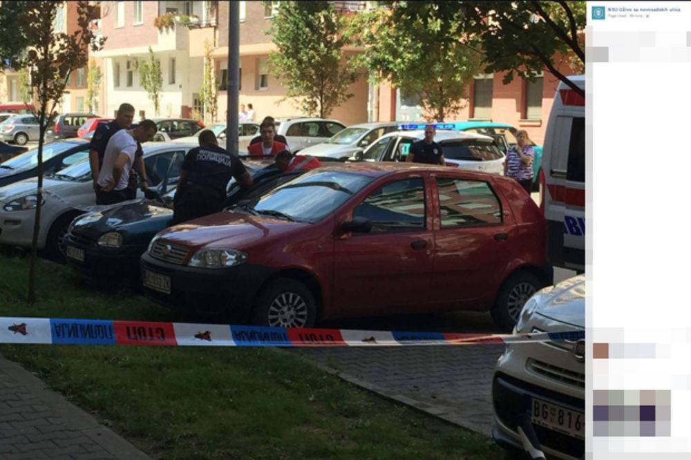 PORODIČNA TRAGEDIJA U NOVOM SADU: Posvađao se sa ženom, seo u auto pa se ubio