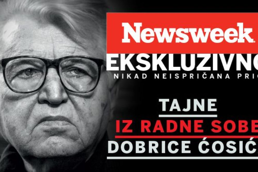 Novi Newsweek ekskluzivno: Tajne iz radne sobe Dobrice Ćosića