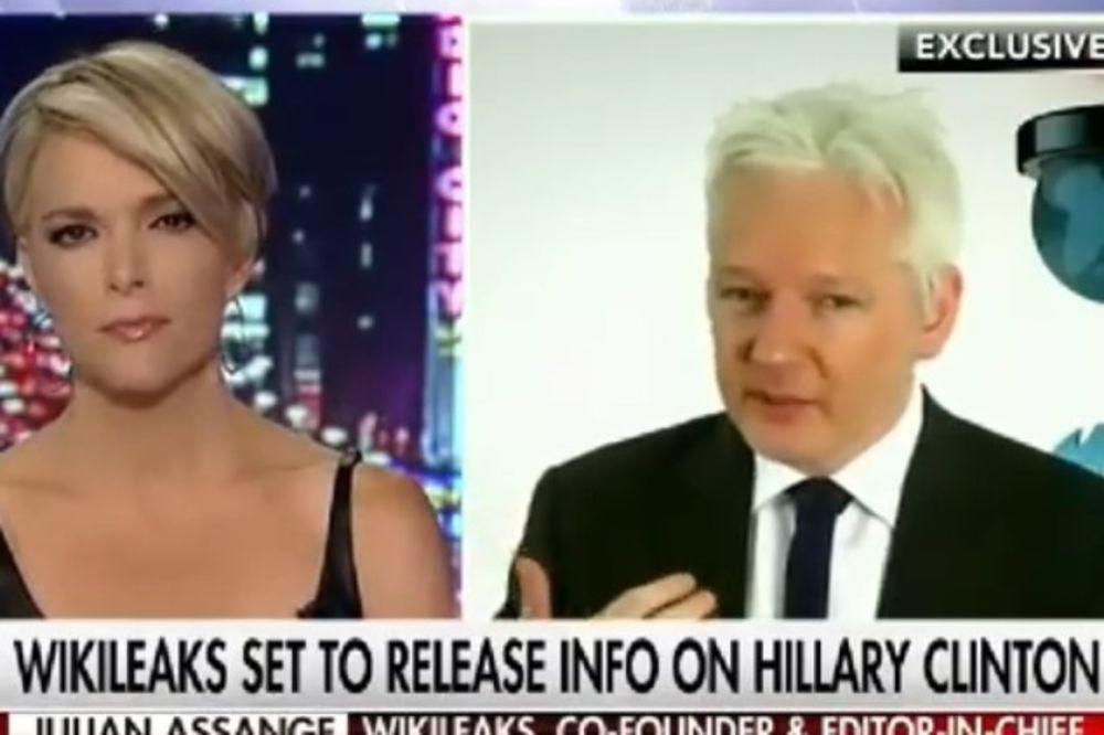 (VIDEO) ASANŽ ZAPRETIO: Objaviću istinu o Hilari koja će promeniti ishod predsedničkih izbora u SAD!