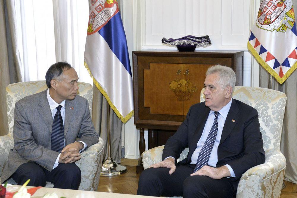 NIKOLIĆ I MANČANG: Više ništa ne može ugroziti prijateljstvo Srbije i Kine