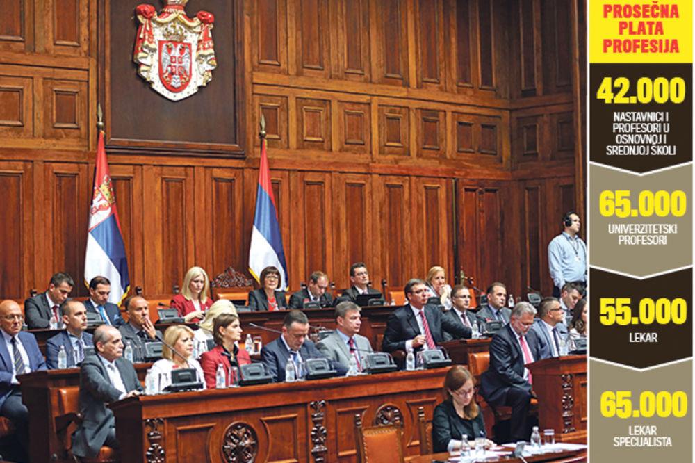 ALAVI: Ministri dižu sebi plate!