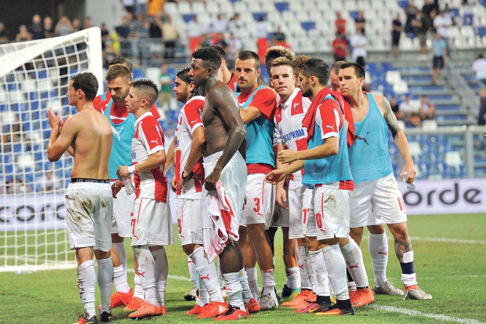 UŽIVO, VIDEO: Novi Pazar - Crvena zvezda 0:2, Sikimić dobio crveni karton