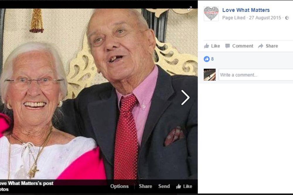 UMRLI SU JEDNOM DRUGOM U NARUČJU: Ljubav duga 75 godina tragično okončana