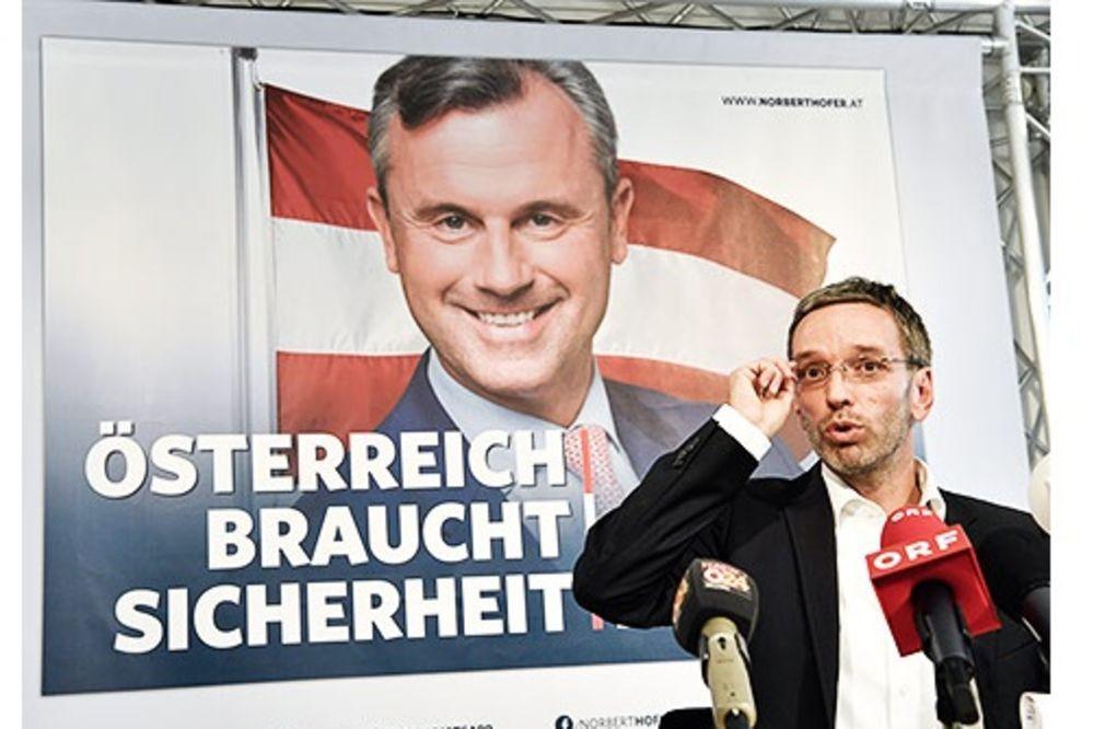 HOFER PLAGIJATOR: Predsednički kandidat FPÖ uzeo izborni slogan narodnjaka!