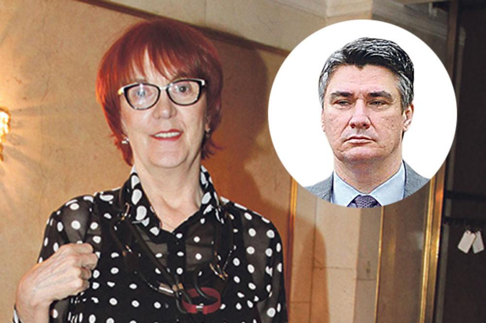 VEDRANA RUDAN IZAZVALA HAOS NA INTERNETU: Sram me je zemlje u kojoj je Milanović nekad bio premijer!