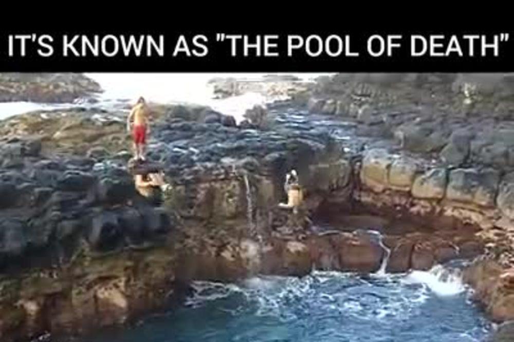 (VIDEO) BAZEN SMRTI: Evo zašto je odavde skoro nemoguće izaći! 3 momka su pokušala, ali...