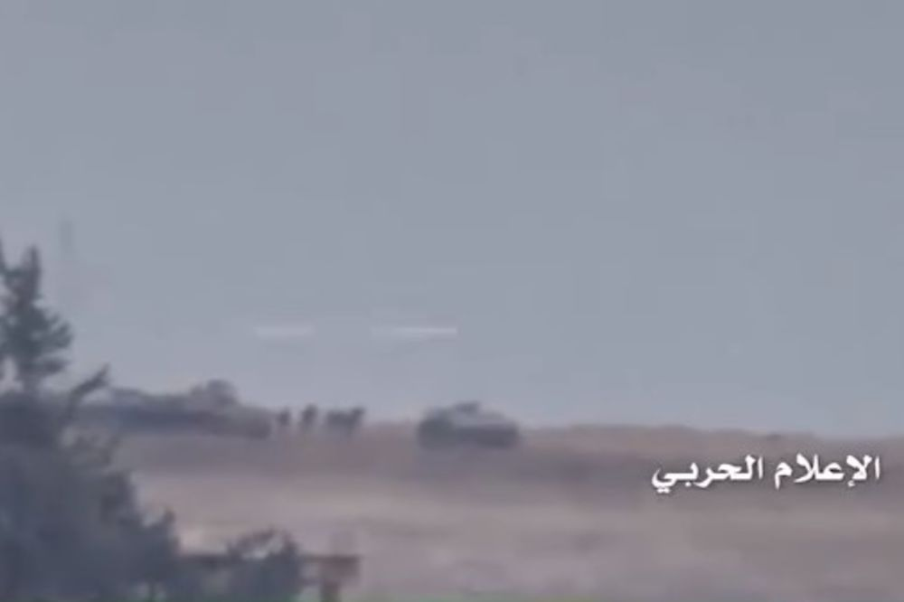 (VIDEO) NAPALI UPORIŠTE VOJSKE: Da vidite kako je sirijska armija isprašila džihadiste u ofanzivi