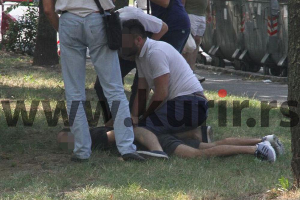 UŽIVO KURIR U BLOKU 45: Uhvaćen muškarac iz solitera! Vrištao dok su ga hapsili!