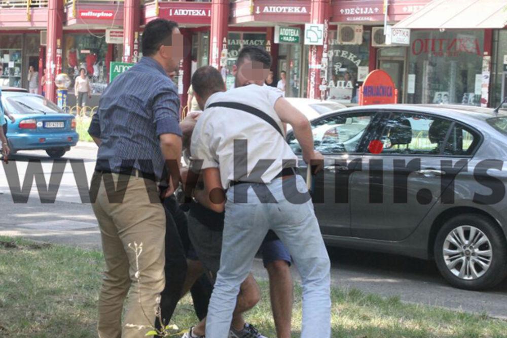 PUCAČ IZ BLOKA 45 IMAO JATAKE U ZGRADI I 3 PIŠTOLJA: Policija privela jednog od stanara zgrade!