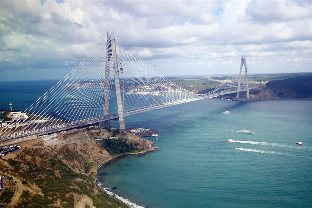 Резултат слика за Video: Otvoren most Sultan Selim u Istanbulu