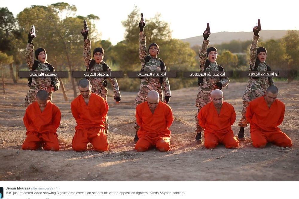 (FOTO) DŽIHADISTI POGUBILI KURDE: Krvnički ih ubila deca stranih boraca