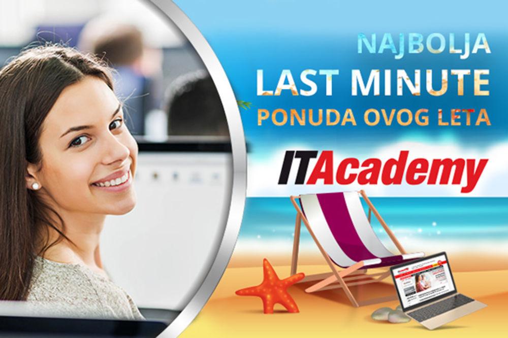Najbolja Last minute ponuda ovog leta: Uštedi 650 evra i postani odlično plaćeni IT stručnjak