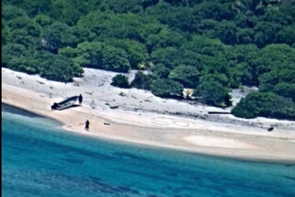 AKCIJA SPASAVANJA KAO U FILMU: Par izbavljen s pustog ostrva na Pacifiku posle nedelju dana potrage