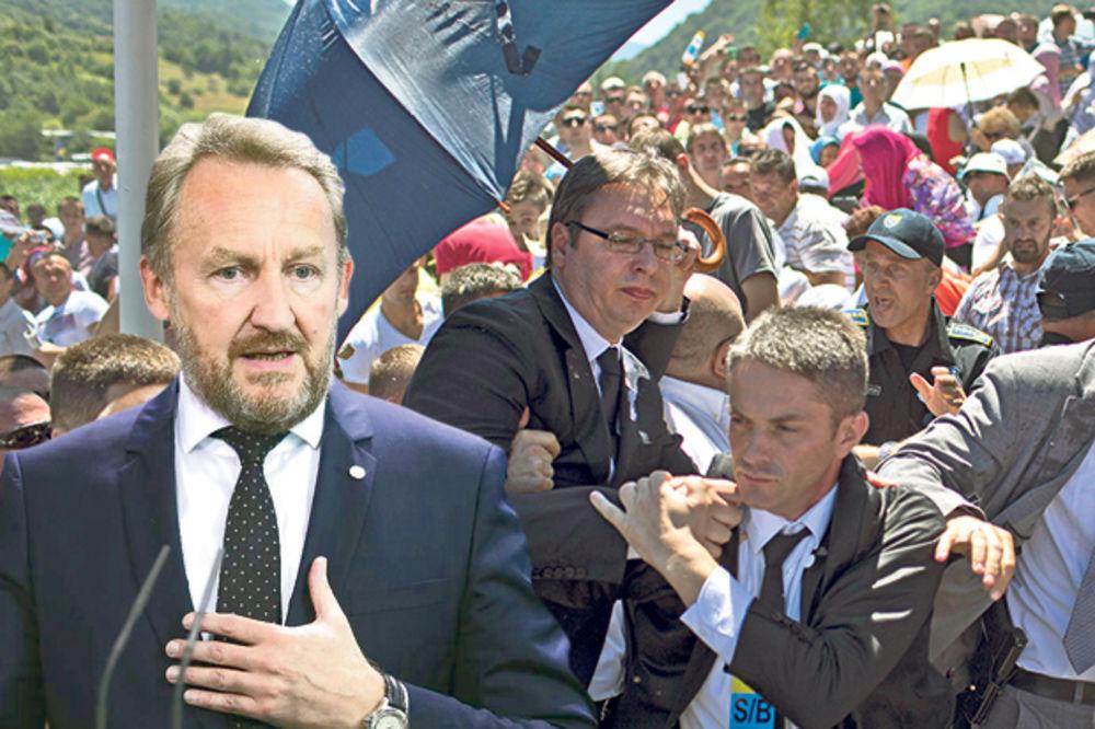 IZETBEGOVIĆ OSLOBODIO ATENTATORA NA PREMIJERA: Bošnjaci ne mogu da oproste Vučiću što je živ!