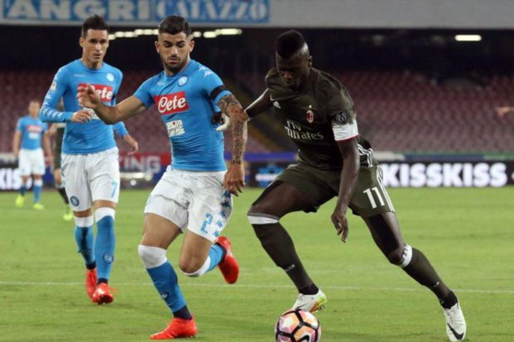 (VIDEO) LUDNICA U NAPULJU: Napoli sa dva igrača više pobedio Milan, minimalac Juventusa