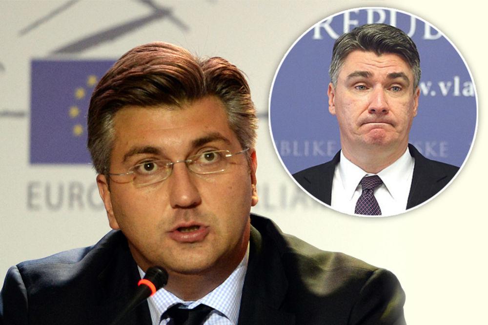 SAD SE HRVATI MEĐU SOBOM SVAĐAJU: Milanović Plenkoviću spomenuo majku, ovaj mu žestoko uzvratio