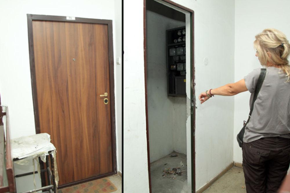 BEGUNAC IZ BLOKA 45 Utrčao je u dečju kabinu i vikao ZOVITE POLICIJU! Sumnjam da je bežao od UBICE!