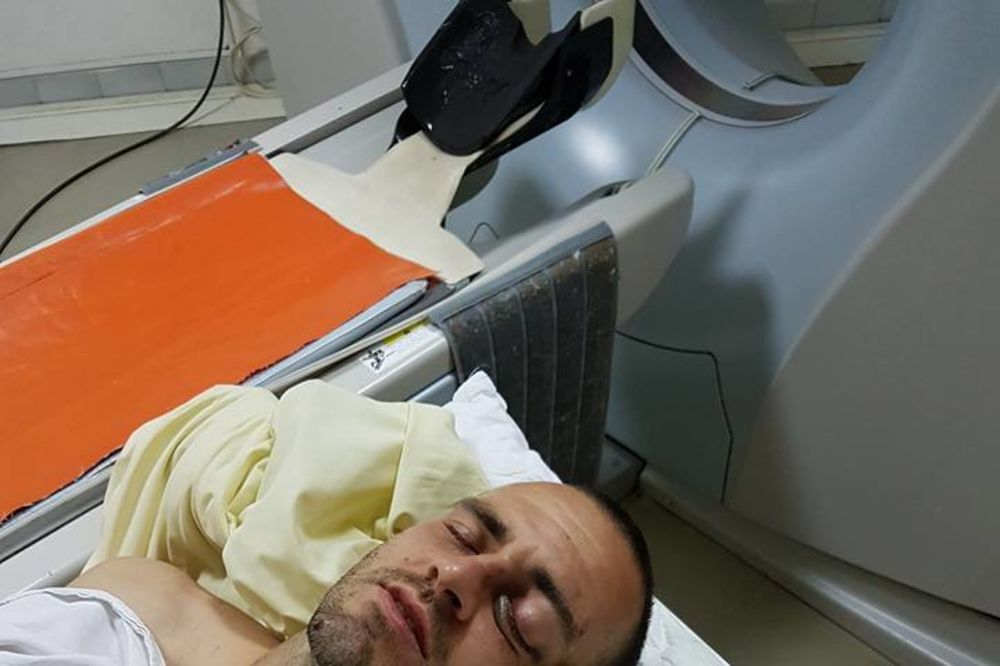 GOLMAN NOVOG PAZARA DAN POSLE POVREDE: Još uvek na pregledima, operacija neminovna