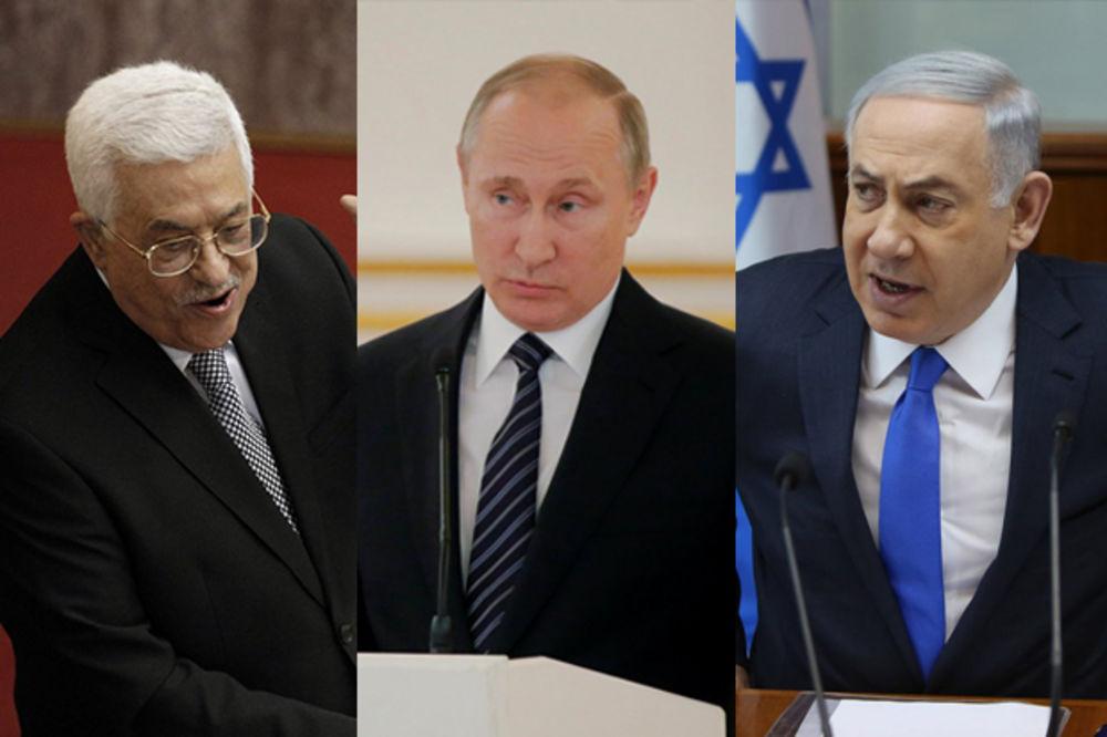 ISTORIJSKI SUSRET U MOSKVI: Putin miri Abasa i Netanjahua!