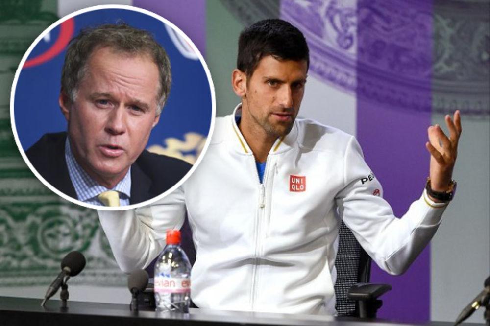 NEVEROVATNO: Legendarni američki teniser smatra da Novak folira da je povređen!